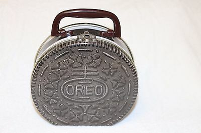 Small Oreo Metal Lunchbox - Slightly Used - Collectible