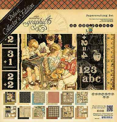 Graphic 45 ABC Primer Deluxe Collector's Edition