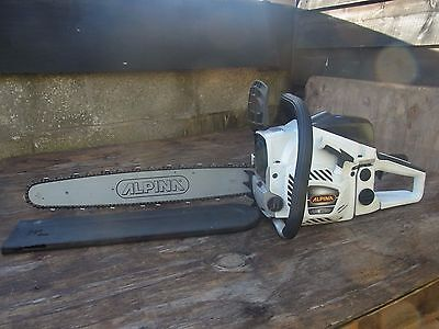 """20"""" ALPINA  PETROL CHAINSAW IDEAL FARMERS SAW  £100.00 off + FREE DELIVERY"""
