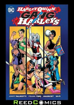 HARLEY QUINN AND HER GANG OF HARLEYS GRAPHIC NOVEL Collects 6 Part Series