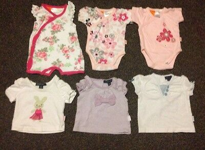 Pumpkin Patch Baby Girl Clothes. Size Nb 0000. 6 Pieces