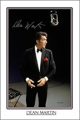 4x6 SIGNED AUTOGRAPH PHOTO PRINT OF DEAN MARTIN #24