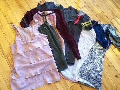 Lot Of 8 Tees Sleeveless Tops Shirts Womens Juniors Xs Extra Small Old Navy Rue