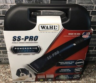 BRAND NEW SEALED Wahl SS-PRO Professional Dog Clippers Powerdrive 9777