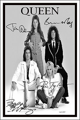 4x6 SIGNED AUTOGRAPH PHOTO PRINT OF QUEEN #26