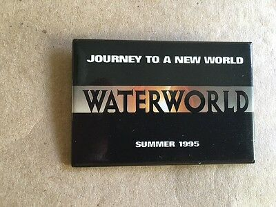 WATER WORLD movie Promo Pin 1995
