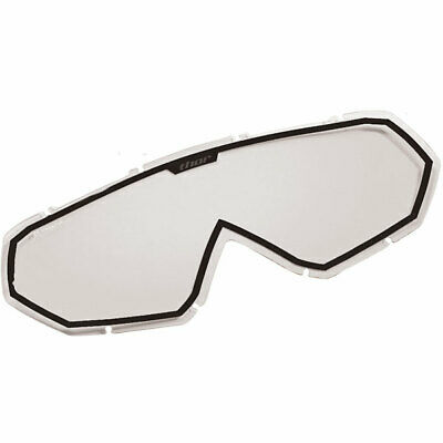 THOR MX Motocross Genuine Replacement Lens for Hero/Enemy Goggles (Clear/Black)