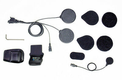 SENA SMH5 Helmet Clamp Kit w/ Locking Connector (Wired Microphone) SMH5-A0312