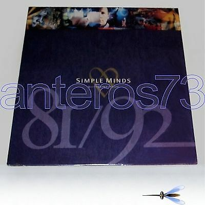"Simple Minds ""glittering Prize"" Rare Lp 1992 - Sealed"