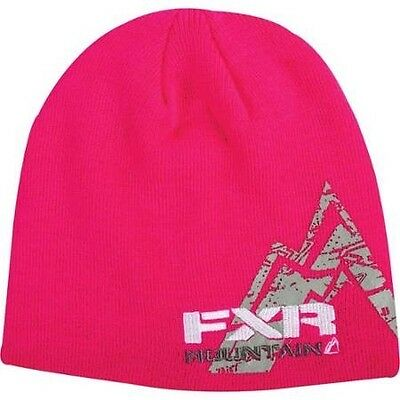 FXR PREMIUM BEANIE CAP HAT- MOUNTAIN Fuchsia - NEW WITH TAGS