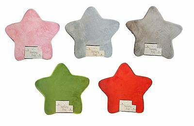 New Little Dreams Supersoft Baby Fluffy Star Shaped Nursery Rug Carpet 70cm