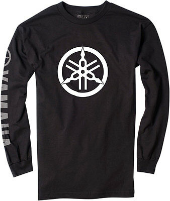Factory Effex Official Licensed YAMAHA Long Sleeve T-Shirt (Black) XL (X-Large)