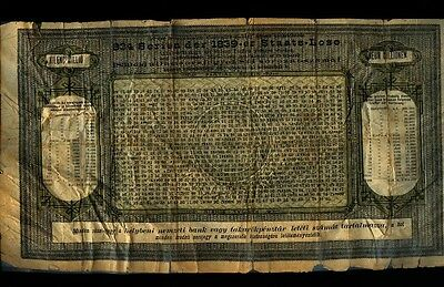 Rare 1.000.000.000 Rothschild Loan 1839
