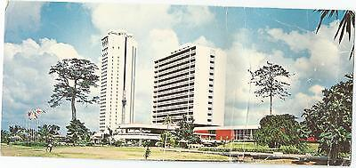 Hotel Ivoire Abidjan Ivory Coast Africa Over Size Long Colourpicture Postcard