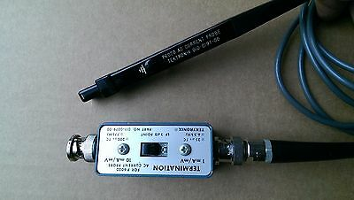 Tektronix P6020 Current Probe w/Termination. Nice