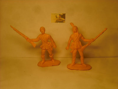 Soldatini Toy Soldiers Comansi tipo Cromoplasto Scouts del West 1:32 cm 7,5