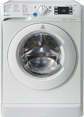 Indesit BWE91484XWUK A+++ 9Kg 1400 Spin Washing Machine White New from AO