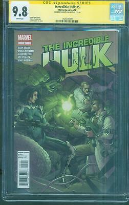 Hulk 5 CGC SS 9.8 Exclusive Whilce Portacio Signed Top 1 Leinil Francis Yu Cover