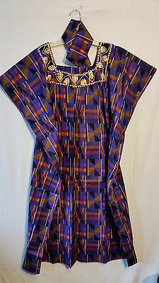 Womens Clothing African Kente Print Maxi Kaftan Caftan Long Dress Plus Size P# 9