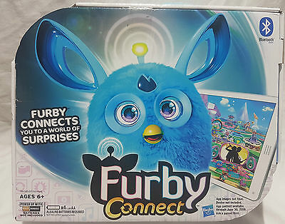 Furby Connect Blue Ages 6+ Bluetooth Electronic Interactive Pet - Brand New