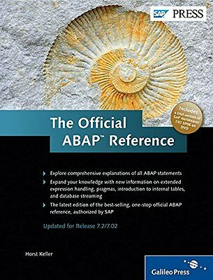 The Official ABAP Reference Book/DVD, 3rd Edition Copertina rigida