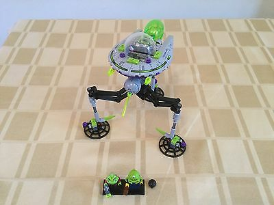 Lego Alien Conquest 7051 Tripod Invader 100% Complete + Instruction