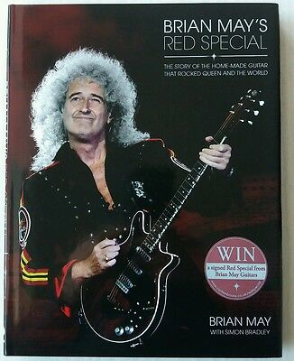 Signed Brian May - Red Special - 1St Edition Hardback Book 2014 - Queen