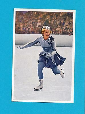 Olympics Figure Skating Sonja Henie Franck Germany 1936