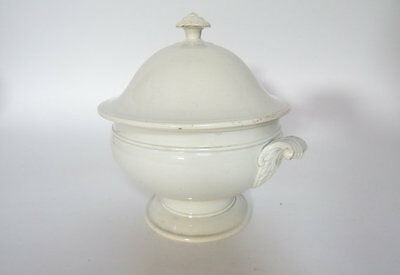 Antique French Porcelain Tureen Creil et Montereau