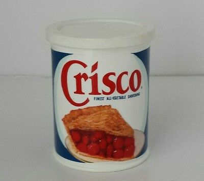 Vintage Fisher Price Fun with Play Food 4 Little Tikes Crisco Can with Lid