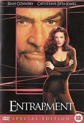 Entrapment Special Edition - Sean Connery, Catherine Zeta Jones NEW Region 2 DVD
