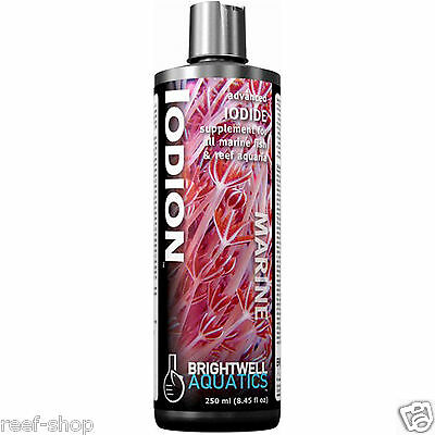 Brightwell Iodion Liquid Iodide Supplement 250 ml Iodine Nano Reef FREE USA SHIP
