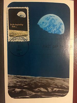 "Colorano Fdc Postcard - ""apollo 8 Mission""  First Manned Orbit Of The Moon 1969"