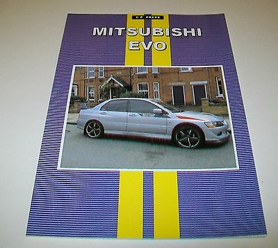 Mitsubishi Evo Road Test Reprint Book. Cp Press