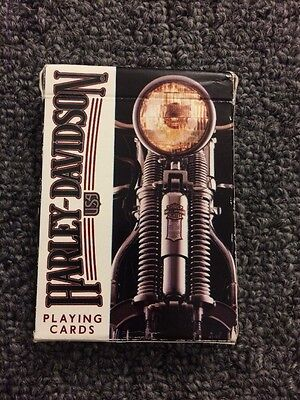 Harley Davidson Playing Cards Used Made In Usa Full Pack
