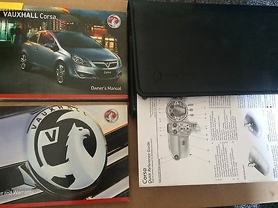 Vauxhall Corsa Owners Manual - Guide - Handbook Pack  Includes Vxr