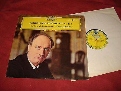 CLASSICAL: SCHUMANN Symphony 1&4 RARE LP DG 138860 red label stereo