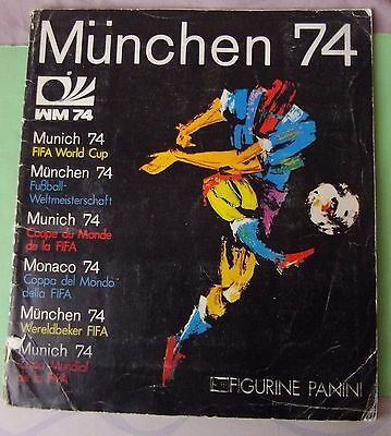 Album Panini Munchen 74 Fifa World Cup Football Complet Original