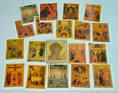 Russian Art Catalog Orthodox Imperial Icon Postcard Christian Cross Gold Silver