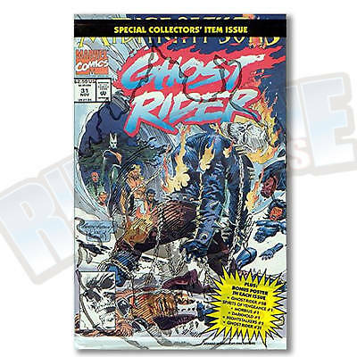 GHOST RIDER v2 #31 POLYBAGGED VF-NM