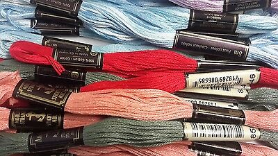 10 Skeins Anchor Embroidery Threads - choose your own from list
