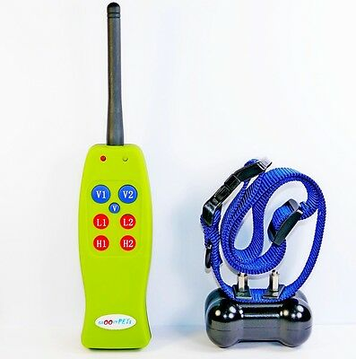 1200 Feet Remote Dog Training E Collar Rechargeable One Dog No Bark Trainer