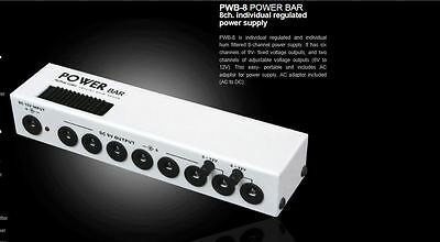 """Artec """"power Bar"""" Effect Power Supply 6-12V Options Small Footprint And Nice!"""