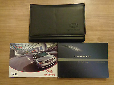 Kia Cerato Owners Handbook/Manual and Wallet 04-08