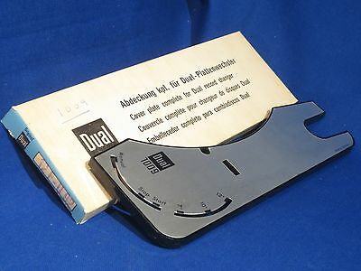 Nos Dual 1009 Turntable Cover Plate Part # 207297 12F-U92 In Original Box
