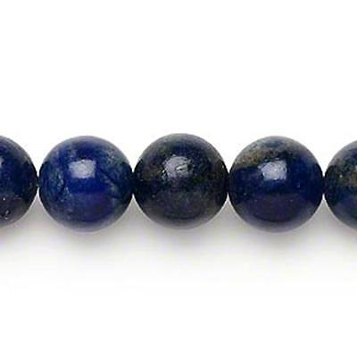 Beads Lapis Lazuli Round 12mm 16inch *UK EBAY SHOP*