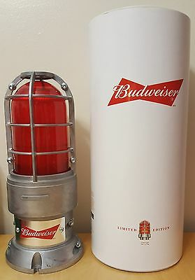 **NEW** BUDWEISER RED LIGHT - Rare Promo Item - Limited Edition - WiFi synced