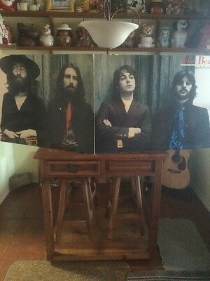 1987 BEATLES Poster 26x74 Ethan A Russell Photograph BL100 Litho Dear Mr Fantasy