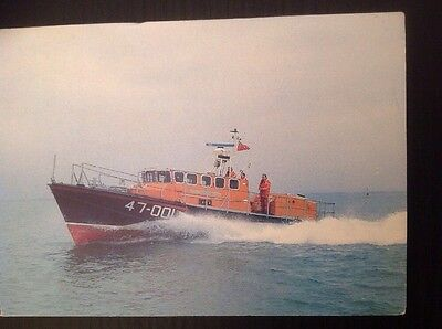 Colour card: RNLI Lifeboat Tyne Class - Selsey