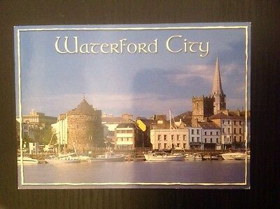 Colour postcard: WATERFORD CITY, IRELAND